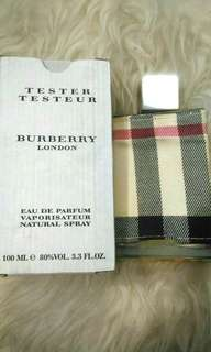 *authentic* BURBERRY London for woman 100ml Edp