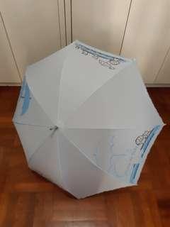 大口仔雨傘