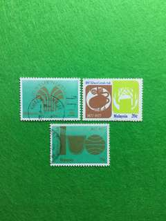 1978 100th Year of Natural Rubber Set of 3V Used