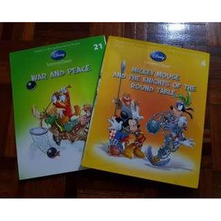 Disney Book - Literature Classics 2pcs