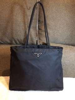 Authentic Prada Nylon Tote Bag