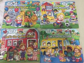 Fisher Price - Little People Book