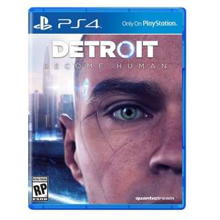 New Release! Detroit Become Human PS4 (ENG)