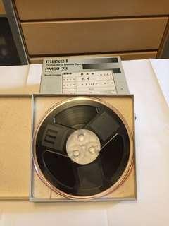 7寸開盤、開卷錄音機之錄音帶(一盒價錢)