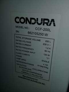 Condura chest type freezer