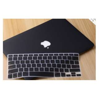 ✔️INSTOCKS✔️ Black Macbook Casing