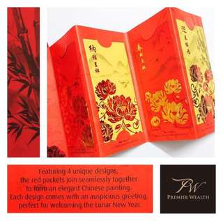 Special Fold Out Red Packets
