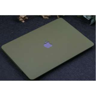 ✔️INSTOCKS✔️ Army Green Color Macbook Casing