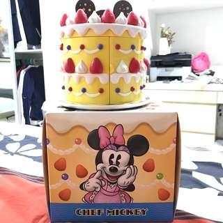 Authentic Disney mickey and Minnie cake