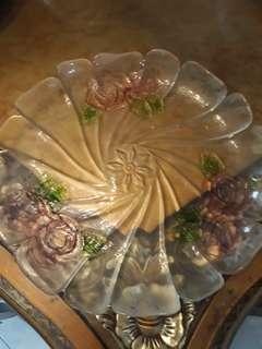 Tempat makanan cantik uk.diameter 35 cm