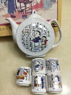 Tea set (Korea)