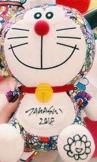 全新村上隆 x Doraemon 叮噹 多啦A夢 公仔