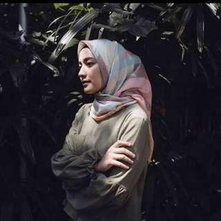 Jilbab voal scarf