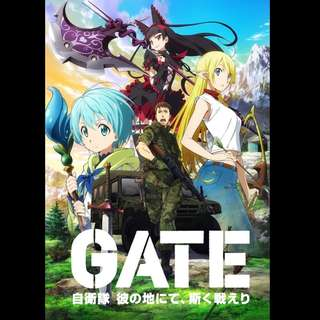 [Rent-TV-Series] Gate Jieitai Kanochi nite, Kaku Tatakaeri (2015) [ANIME]