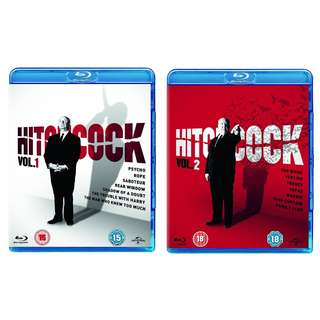 Alfred Hitchcock Collection Volume 1 & 2 Blu-ray