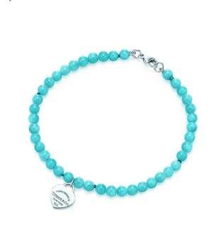 Tiffany and Co amazonite bracelet
