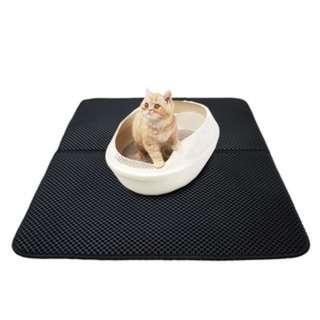 (184)Cat Litter Mat EVA Double-Layer Cat Trapper Mat with Waterproof Bottom Layer
