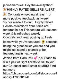 Thank you Carousell!! ❤️