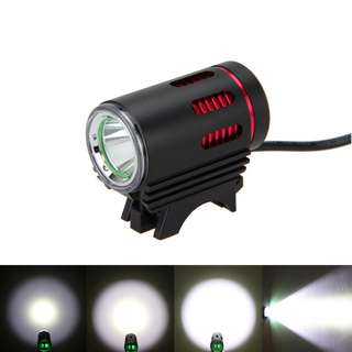 Bicycle Scooter Headlight L2 T6 LED 1200 Lumens with 8.4V Battery and Charger