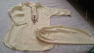 Baju kurta raya baby