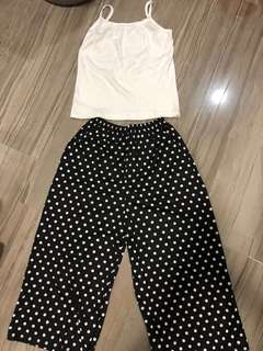 BN 2 pcs Polka Dot Set