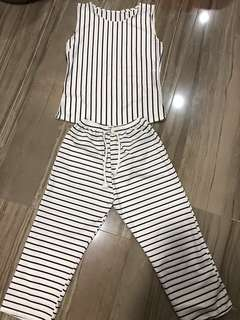 BN 2pcs Stripes Set
