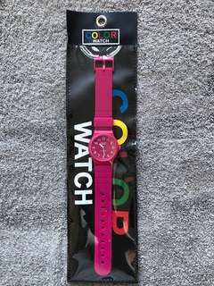 Ice Fire color watch pink