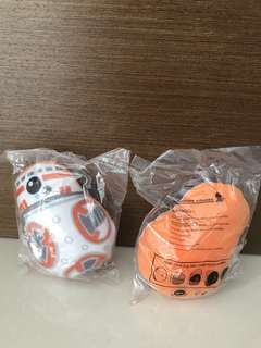 Take 2 Free Postage - BN Singapore Airlines (SQ) Star Wars BB8 Plush Toy (Flip and Swap Plush)