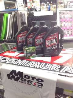 Maxima Extra4 10w40 / 15w50 Servicing Package