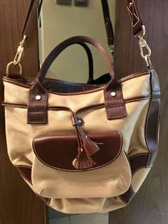 清櫃大減價 LANCEL 2 way handbag