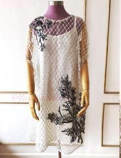 Maya cape dress