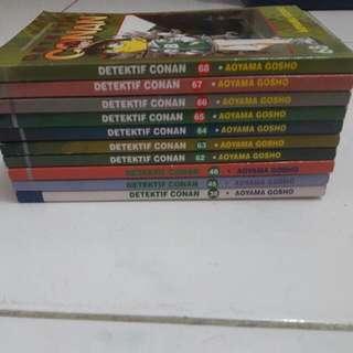 Komik Conan 10 pcs
