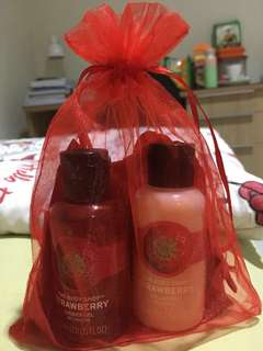 The Body Shop Strawberry Set