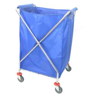 Chrome Steel X-2 Trolley-X2T-506/Chrome