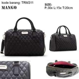 tas mng bowling bag selempang trm311 hitam, tas branded import