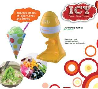 Morgan Snow Cone Maker MSS-A9606R ICY