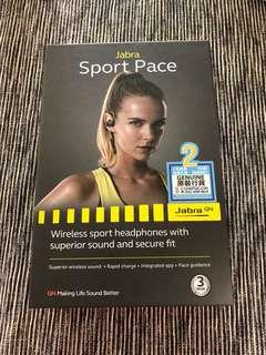 Jabra Sport Pace BT Earphone (brand new)