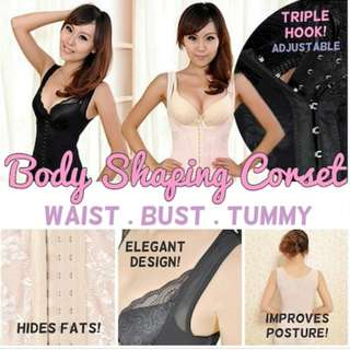 Triple Hook Body Shaper Corset/Slimming Top / Sexy Shape wear