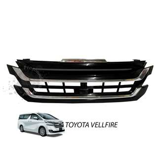 TOYOTA VELLFIRE 2015 ABS FRONT GRILLE WITH LED
