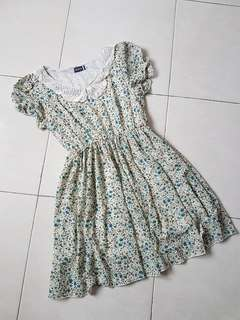 Preloved Chiffon Floral Dress