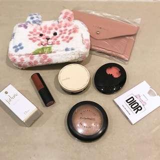 化妝包組合-化妝包 香水全新 其他二手物