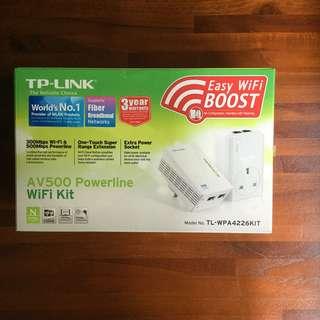 TP Link Wifi Powerline Kit