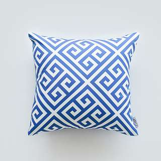 Shock Blue Cushion 40 x 40