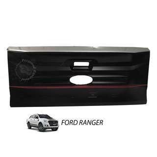 FORD RANGER 2015 (FRR-260) TAIL GATE DOOR FULL COVER (BIG) MATT BLACK