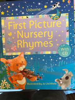 Children's nursery rhymes (no cd)