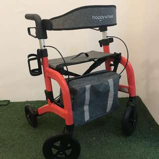 HappyWheels Lightweight Travel Rollator