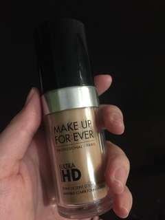 Ready 21 June - make up forever (MUFE) ultra HD FOUNDATION