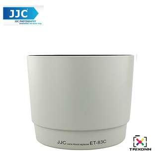 JJC LH-83C(W) White Lens Hood for Canon EF 100-400mm f/4.5-5.6L IS USM Camera Lens ( ET-83C )