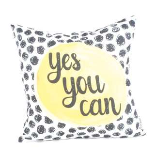Yes You Can Cushion 40 x 40