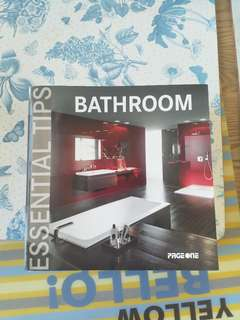 Page one bathroom essential tips